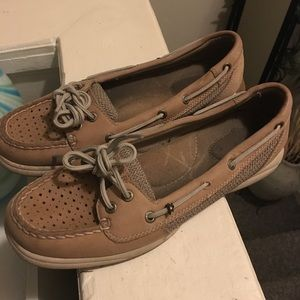 Sperry Boat Shoes Leather